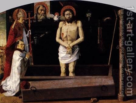 The Boulbon Altarpiece 1460 by Anonymous Artist - Reproduction Oil Painting