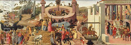 Scenes from the Story of the Argonauts by Biagio D'Antonio - Reproduction Oil Painting