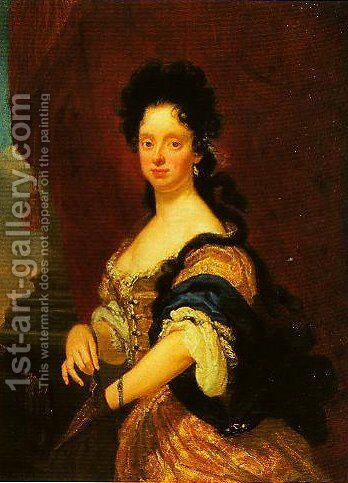 Anna Maria Luisa de Medici by Niccolo Cassana - Reproduction Oil Painting