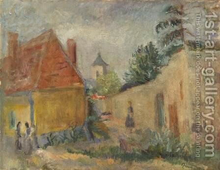 Street at Szentendre 1938 by Carlton Alfred Smith - Reproduction Oil Painting