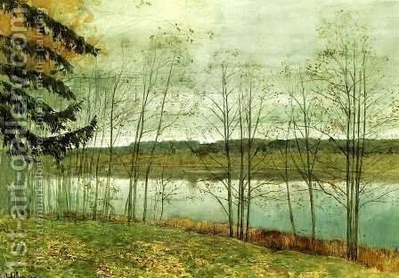 Autumn 1891 1899 by Isaak Ilyich Levitan - Reproduction Oil Painting