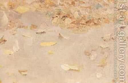 Autumn leaves 1879 by Isaak Ilyich Levitan - Reproduction Oil Painting