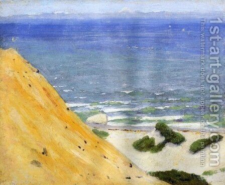 Gay Head 1913 by Arthur Wesley Dow - Reproduction Oil Painting