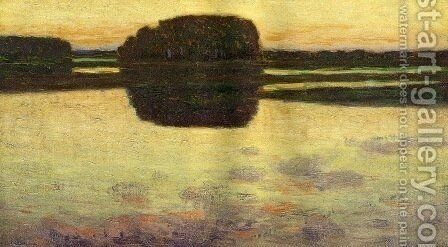 Ipswich Marsh 1900 by Arthur Wesley Dow - Reproduction Oil Painting