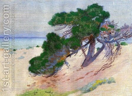 Pacific Grove California 1919 by Arthur Wesley Dow - Reproduction Oil Painting