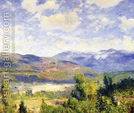 Arroyo Seco by Guy Rose - Reproduction Oil Painting
