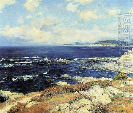 Carmel Coast by Guy Rose - Reproduction Oil Painting