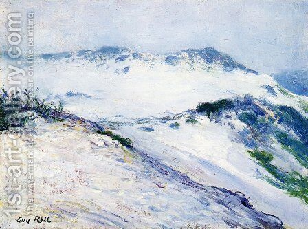 Carmel Dunes by Guy Rose - Reproduction Oil Painting