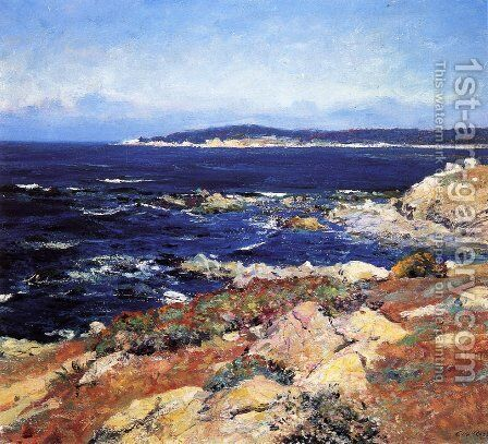 Carmel Seascape1 by Guy Rose - Reproduction Oil Painting