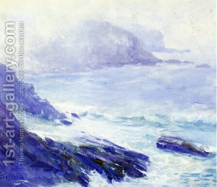 Coastline by Guy Rose - Reproduction Oil Painting