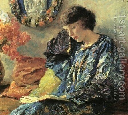 Marguerite by Guy Rose - Reproduction Oil Painting
