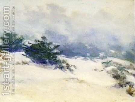 Misty Dunes Carmel by Guy Rose - Reproduction Oil Painting