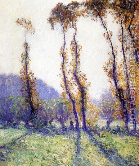 October Morning by Guy Rose - Reproduction Oil Painting