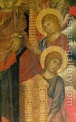 Angels from the Santa Trinita Altarpiece by Giovanni Cimabue - Reproduction Oil Painting