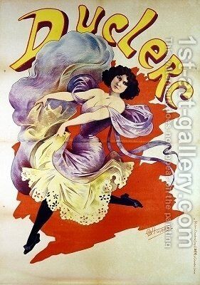 Duclerc poster by Alfred Choubrac - Reproduction Oil Painting