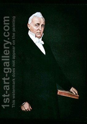James Buchanan by (after) Chase, William Merritt - Reproduction Oil Painting