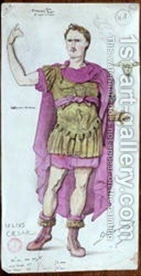 Costume design for Julius Caesar from La Mort de Pompee by Desire Chaineux - Reproduction Oil Painting