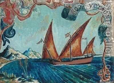 Bon Voyage by Dora Carrington - Reproduction Oil Painting
