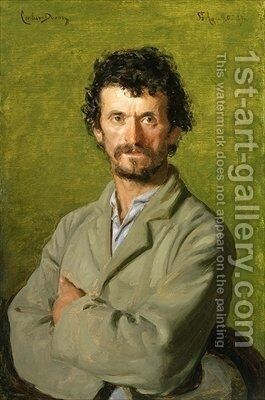 The Artists Gardener by Carolus (Charles Auguste Emile) Duran - Reproduction Oil Painting