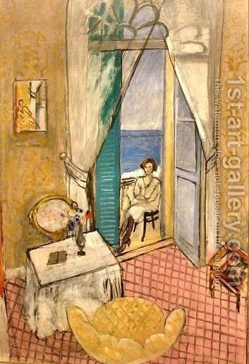 Interior at Nice by Henri Matisse - Reproduction Oil Painting