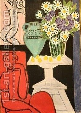 Daisies by Henri Matisse - Reproduction Oil Painting