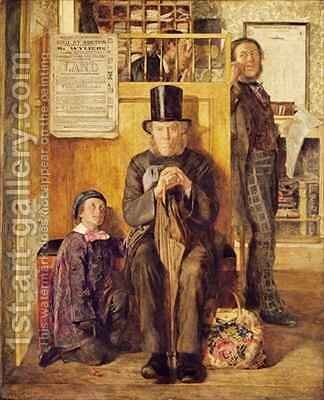 The Solicitor's Office by James Jr. Campbell - Reproduction Oil Painting
