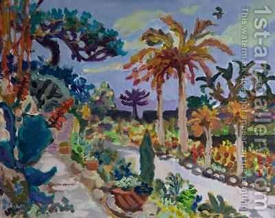 In Tresco Garden by (after) Camocio, Giovanni Francesco - Reproduction Oil Painting
