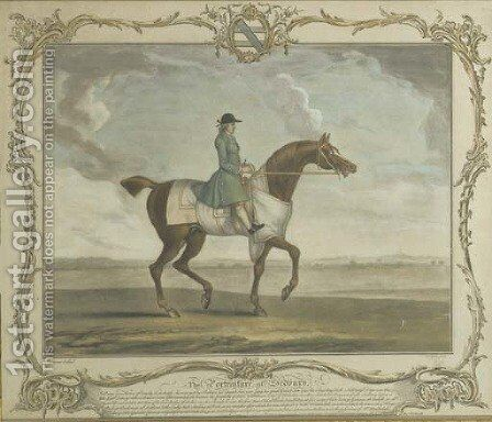 The Portraiture of Sedbury by (after) James Seymour And Thomas Spencer - Reproduction Oil Painting