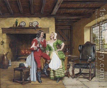 Back home at last by Arthur Longlands Grace - Reproduction Oil Painting