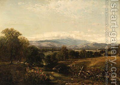 Landscape by Aaron Draper Shattuck - Reproduction Oil Painting