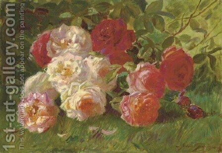 Roses by Abbott Fuller Graves - Reproduction Oil Painting