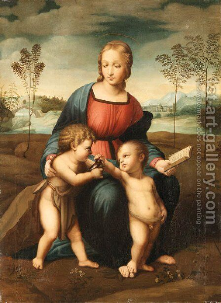 Raphael by Adolfo Dumini - Reproduction Oil Painting