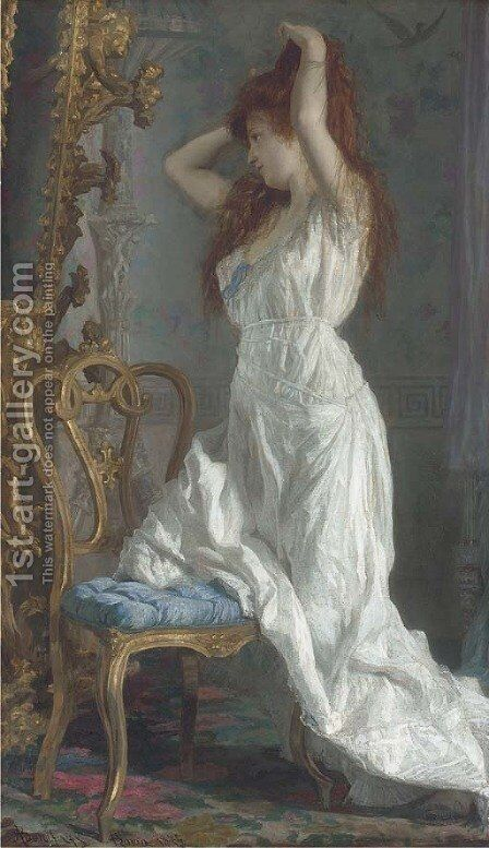 Vanity by Adriano Bonifazi - Reproduction Oil Painting