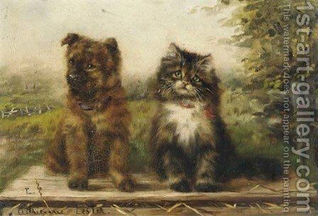 We two by Adrienne Lester - Reproduction Oil Painting