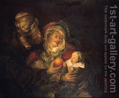 The Holy Family by (after) Aert De Gelder - Reproduction Oil Painting