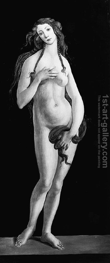 Venus by (after) Sandro Botticelli (Alessandro Filipepi) - Reproduction Oil Painting