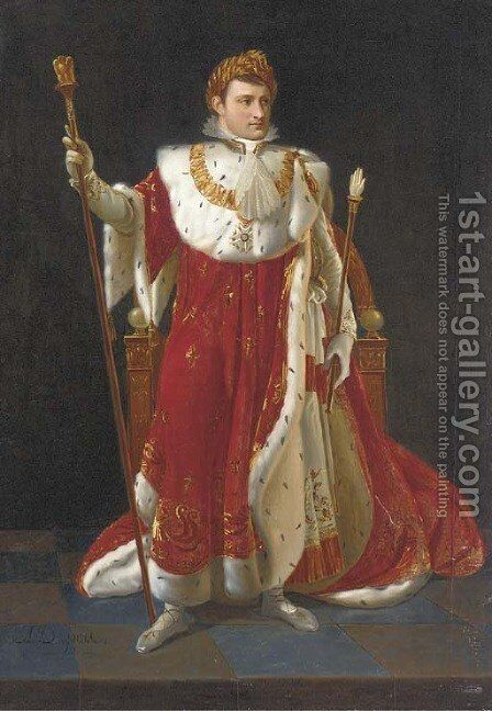 The Emperor Napoleon by (after) Andre-Jean-Antoine Despois - Reproduction Oil Painting