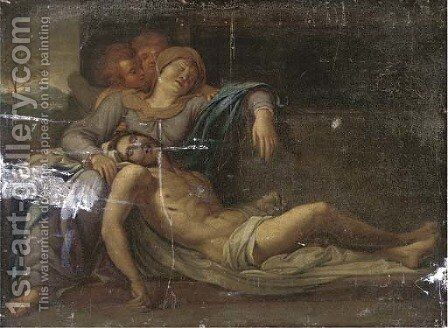 The Pieta by (after) Annibale Carracci - Reproduction Oil Painting
