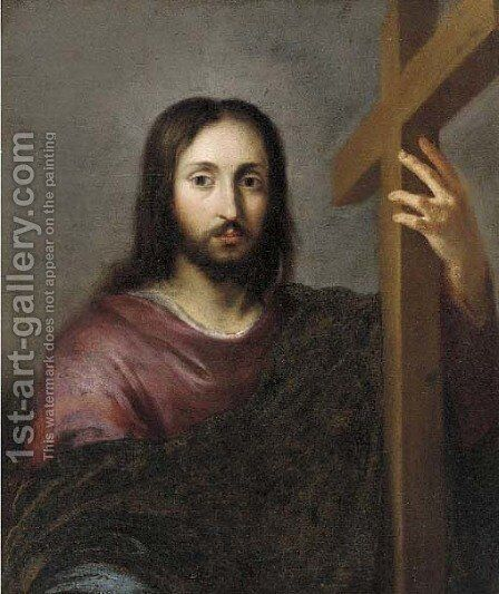 Christ carrying the cross by Bartolome Esteban Murillo - Reproduction Oil Painting