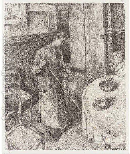 Ten plates by (after) Camille Pissarro - Reproduction Oil Painting