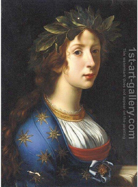 La Poesia by (after) Carlo Dolci - Reproduction Oil Painting
