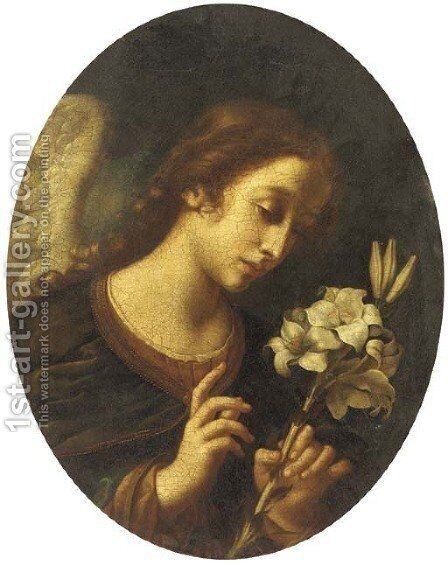 The Angel of the Annunciation by (after) Carlo Dolci - Reproduction Oil Painting