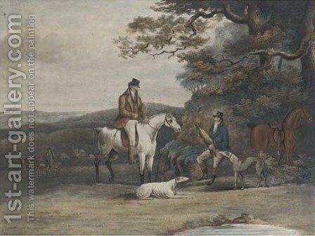 Coursing, (Siltzer 310), by R. Reeve by Dean Wolstenholme, Jr - Reproduction Oil Painting