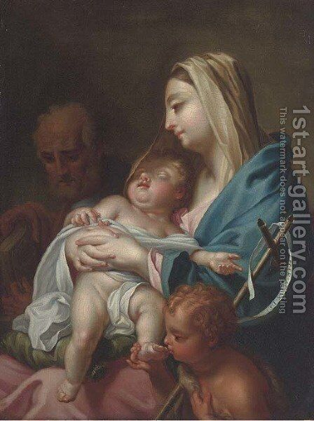 The Holy Family by (after) Francesco Trevisani - Reproduction Oil Painting