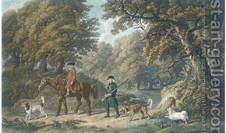Game keepers, by Henry Birche by (after) Stubbs, George - Reproduction Oil Painting