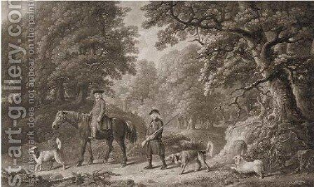 Game keepers, by Henry Birche (Lennox-Boyd, Dixon and Clayton nos. 87,88) by (after) Stubbs, George - Reproduction Oil Painting