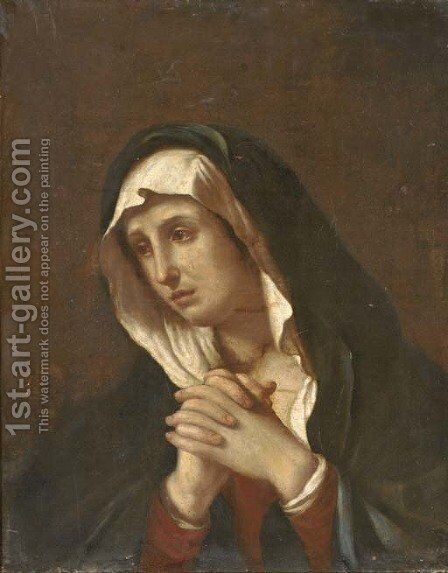 The Mater Dolorosa by Giovanni Francesco Guercino (BARBIERI) - Reproduction Oil Painting