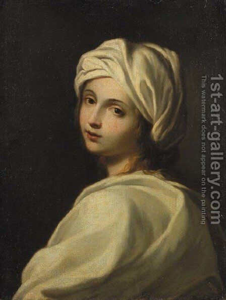 Portrait of Beatrice Cenci by (after) Guido Reni - Reproduction Oil Painting