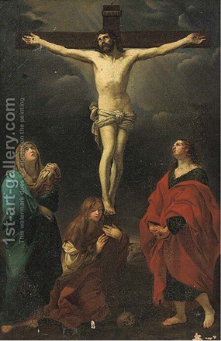 The Crucifixion by (after) Guido Reni - Reproduction Oil Painting