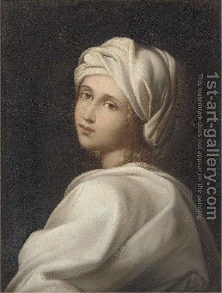 Beatrice Cenci 2 by (after) Guido Reni - Reproduction Oil Painting